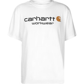 Carhartt Core Logo Workwear T-shirt Heren, white